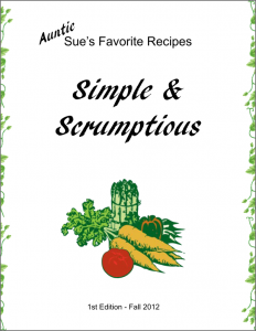 Sue's Cookbook!
